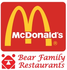 Bear Family McDonald's Restaurants
