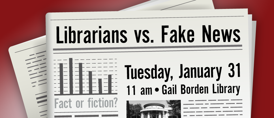 Librarians vs. Fake News
