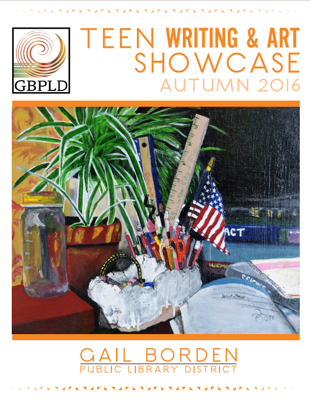 cover of teen writing and art showcase