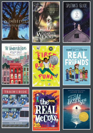 Cover images from 2018-2019 Battle of the Books